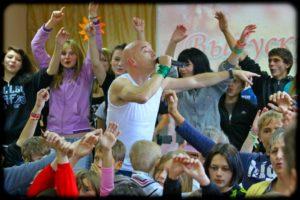 Концерт Tony&SmokeBreakers в Кимовском детском доме