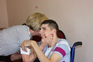 Visits to the neuropsychiatric orphanage